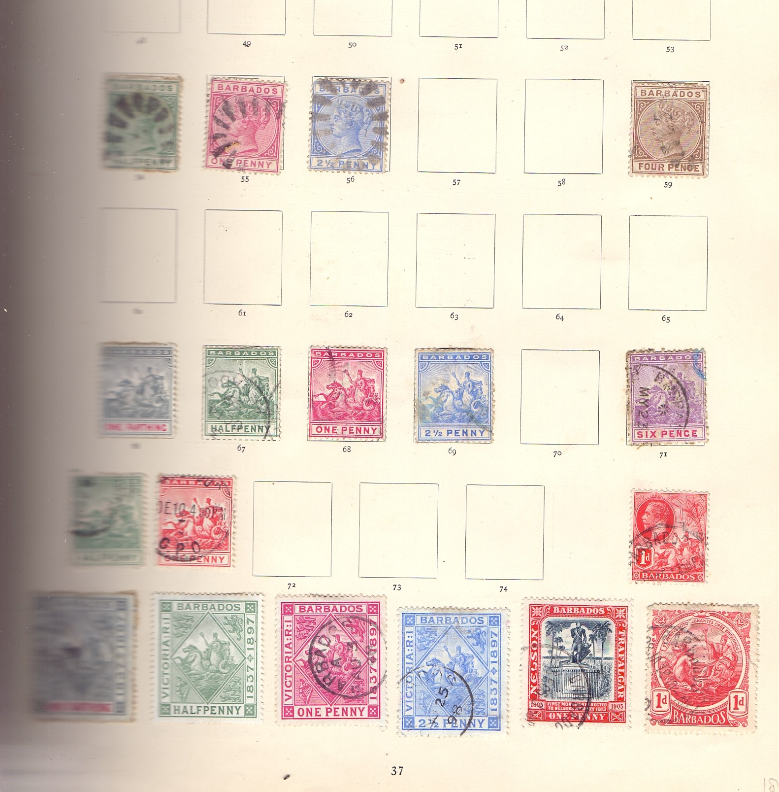 STAMPS : IMPERIAL Album 1897 edition, - Image 5 of 7