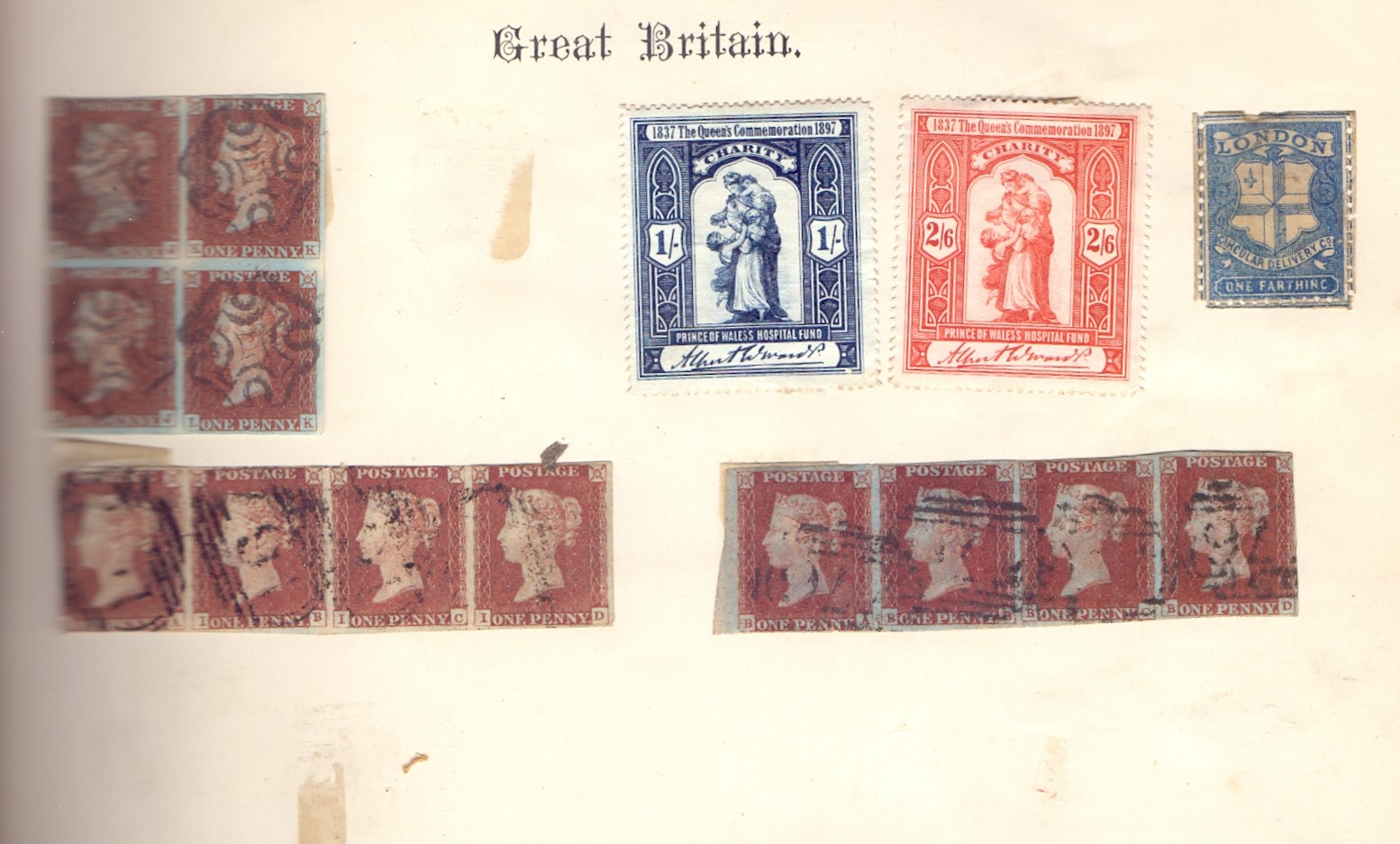 STAMPS : IMPERIAL Album 1897 edition, - Image 3 of 7