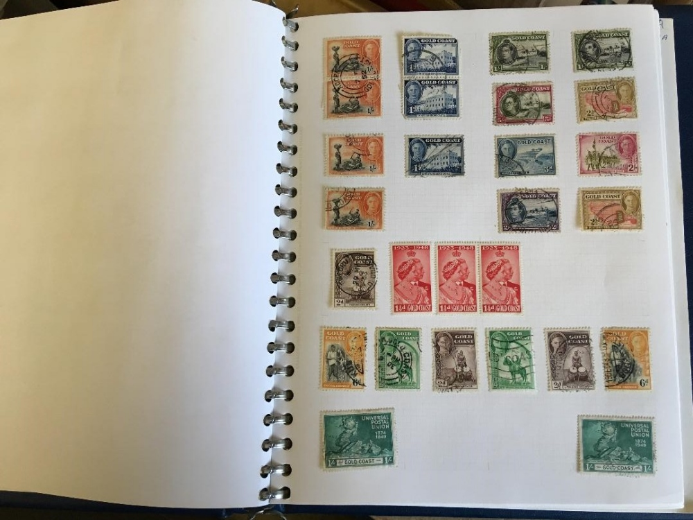 Lot 39 - STAMPS : Mixed World collection in three boxes various albums,