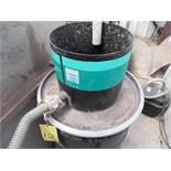 ABRASIVE REMOVAL SYSTEM, FLOW SYSTEMS, gravity fed, hoses, PVC hardware (Location 1: FlexDecks,