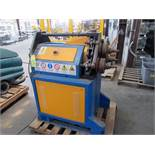 ANGLE ROLL, ERCOLINA MDL. CE50H3, new 2002, Mdl. RC100 ring roller control, 240 v., misc. dies, S/
