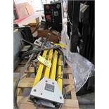 TAPPING MACHINE, FLEX ARM MDL. GH45, Mdl. 50OMM hyd. motor, misc. mounting hardware, S/N 2731 (