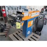 "TUBE SANDER, ERCOLINA MDL. EN100, new 2006, 240 v., 4 KW pwr. supply, 4"" sanding width, swiveling"