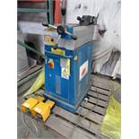 TUBE BENDER, ERCOLINA MDL. TB60, new 2004, 1.5 KW pwr. source, microprocessor control, foot pedal