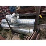 """LOT OF EXHAUST VENT DUCT, 18"""" (Location 1: FlexDecks, Inc., 14325 West Hardy Road, Houston, TX"""