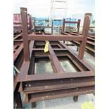 "WELDING & SET-UP TABLE, 168'L. x 40""W., I-beam construction, H.D. (Location 1: FlexDecks, Inc.,"