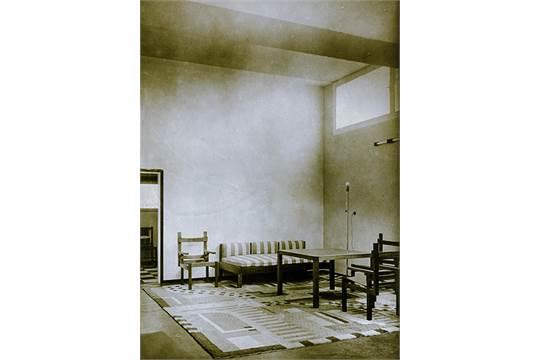 haus am horn wohnzimmer original photographie vintage silbergelatine ber hornstein tamara nesselwangle