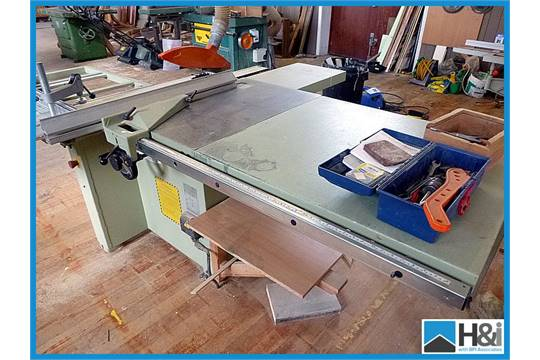 SCM Minimax SC3 panel saw  Tilt, rise and fall  Approx 1300