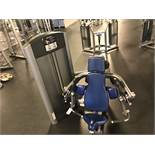 Life Fitness Biceps Curl #FZBC Weight Stack up to 190 Lb. S/N: FZBC1210053