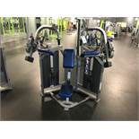 Hammer Strength MTS Triceps Extension #MTSTE Twin 100 Lb. Weight Stacks S/N: MTSTE1210010