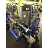 Life Fitness Seated Leg Curl #FZSLC Weight Stack up to 270 Lb. S/N: FZSLC1210066 (Leg Holster