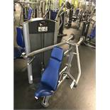 Life Fitness Shoulder Press Machine #FZSP Weight Stack up to 190 Lb. S/N: FZSP1210059