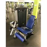 Life Fitness Leg Extension #SS-LE Weight Stack up to 250 Lb. S/N: SS-LE0816B058