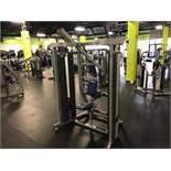 Hammer Strength MTS Row #MTSRW Twin 150 Lb. Weight Stacks S/N: MTSRW1210006