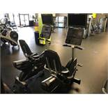 Life Fitness #CLSR Recumbent Bike w/Programmable Controls, Digital Readout & LF LCD HDTV (See