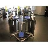 Hammer Strength MTS Bicep Curl #MTSBC Twin 100 Lb. Weight Stacks S/N: MTSBC1210011