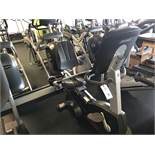 Life Fitness Recumbent Bike #CLSR S/N: CLI100405 w/Programmable Controls & Digital Readout