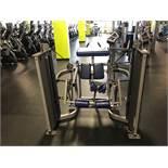 Hammer Strength MTS Kneeling Leg Curl #MTSKC Twin 150lb. Weight Stacks S/N: MTSKC1210013 (Slight