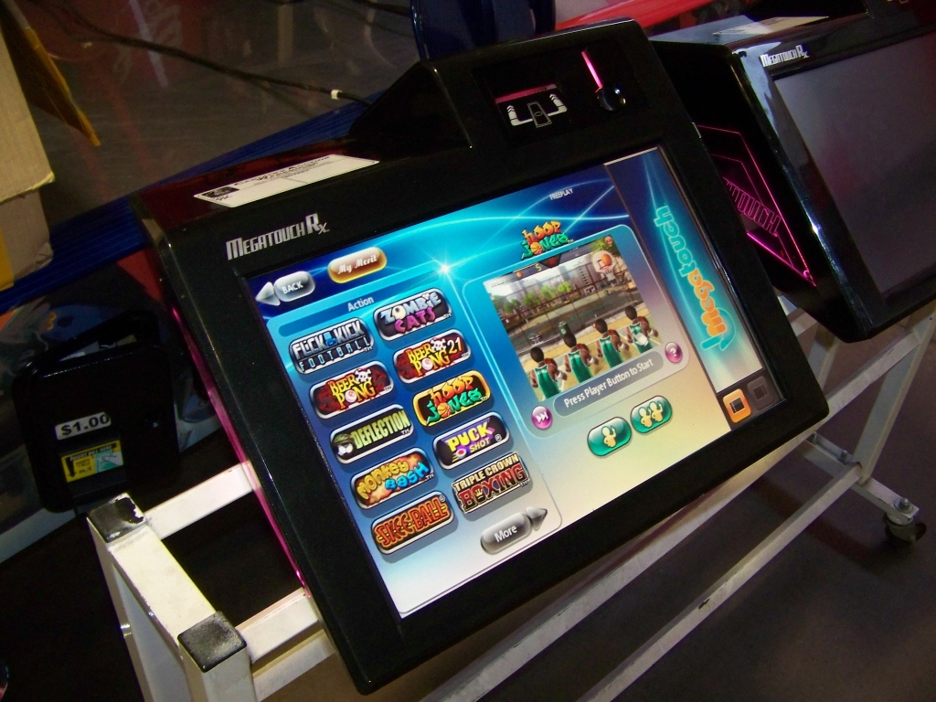Lot 919   MEGATOUCH RX COUNTER TOP BAR GAME
