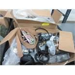 (2) BOXES U.S. CARGO RATCHET STRAPS, (1) BOX LODI METALS CAMBUCKLE STRAPS