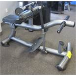 MATRIX MG-PL77 Seated Calf Raise Machine - Plate Loaded - Starting Resistance 26lbs, S/N: