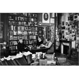 """Gisèle Freund. """"James Joyce in Sylvia Beach's bookshop """"Shakespeare & Co"""", rue de l'Odéon, wi…."""