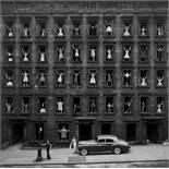 "Ormond Gigli. ""Girls in the Windows, New York City"". 1960"
