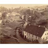 August Kotzsch. Loschwitzgrund mit Gasthof Eule. Um 1865