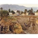"Joel Sternfeld. ""After The Flash Flood, Rancho Mirage, California, July"". 1979"