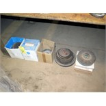 LOT CONSISTING OF: grinding wheels & cut off wheels, assorted (under one table)