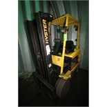 Hyster 3,250 lb. Electric Forklift, M/N E50XM2-33, S/N F108V20978X, 3-Stage Mast, Side Shift, No