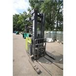 Clark Stand-Up Narrow Aisle Reach Forklift, M/N NPR20, S/N NPR345-0848-9454FB, 2,000 lb. Lifting