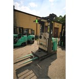 Mitsubishi Electric Order Picker, M/N EOP, S/N 1EOP241297, 6,407 Hours, with 36 Volt Battery, with