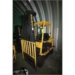 Hyter 3,250 lb. Electric Forklift, M/N E50XM2-23, S/N F108V27369A, 3-Stage Mast, Side Shift, No