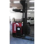 Raymond 3,000 lb. Narrow Isle Electric Forklift, M/N EAS DR30TT, S/N DZ-A-9810338, 2640 Hours (