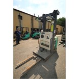 Mitsubishi Electric Order Picker, M/N EOP, S/N 1EOP241302, 3,401 Hours, with 36 Volt Battery, with