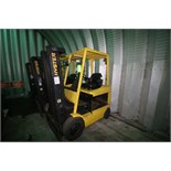 Hyster 3,250 lb. Electic Forklift, M/N E50XM2-33, S/N F108V27351A, 3-Stage Mast, Side Shift, No