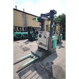 Mitsubishi Electric Order Picker, M/N EOP, S/N 1EOP241302, 3,739 Hours, with 36 Volt Battery, with