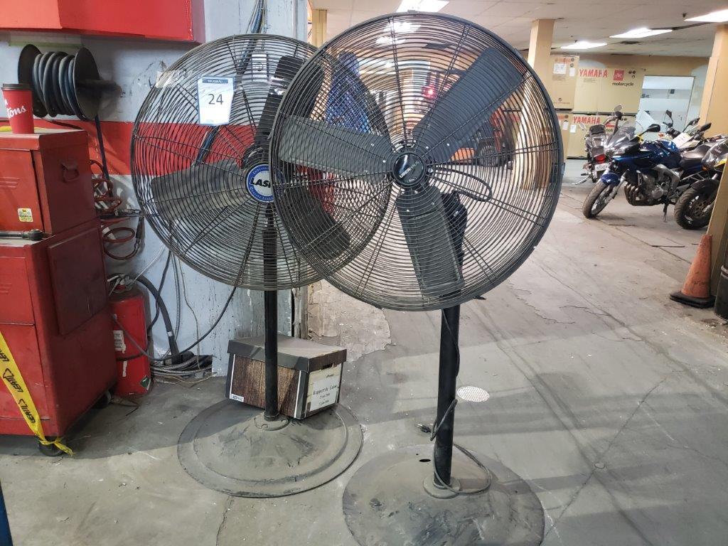 2 ventilateur sur pied - Image 2 of 2