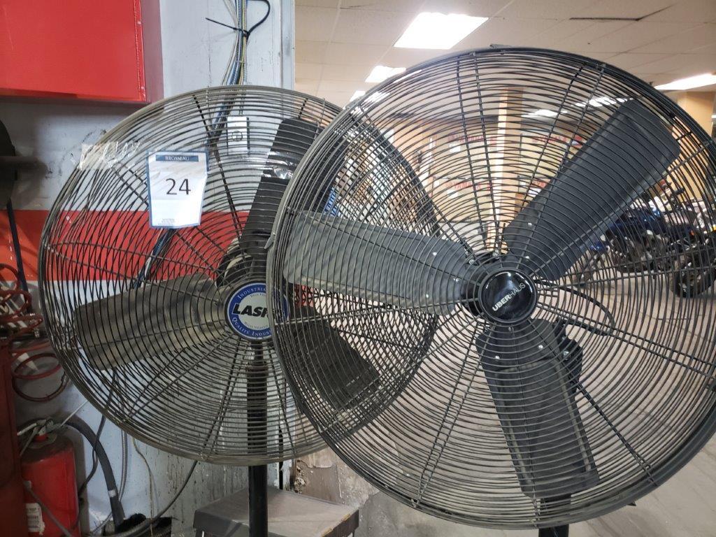 2 ventilateur sur pied