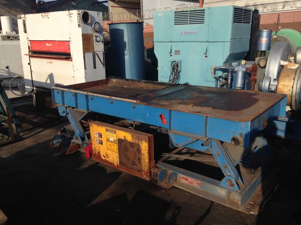 "1995 General Kinematics Vibrating Parts Shakeout | 1/8""- 1"", Mdl: 36899 - Located In: Huntington"