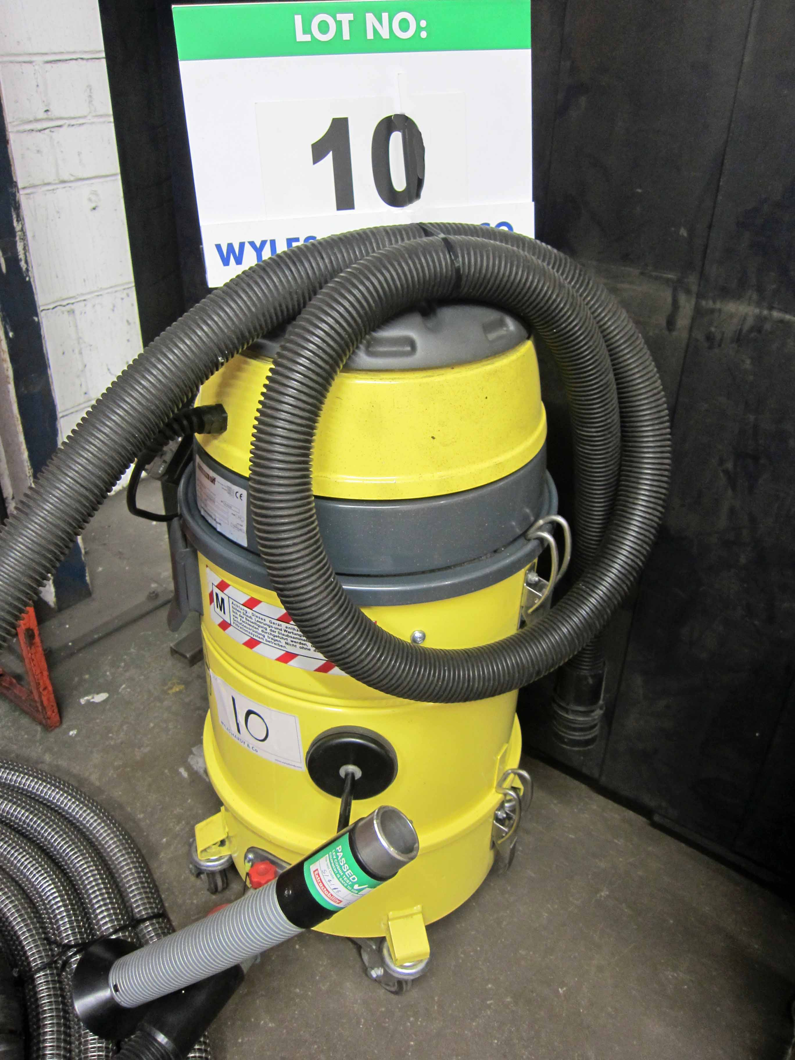 A WELDABILITY SIF Model EXTSVAC 240 240V Mobile Fume Extractor complete with F-TECH Fume
