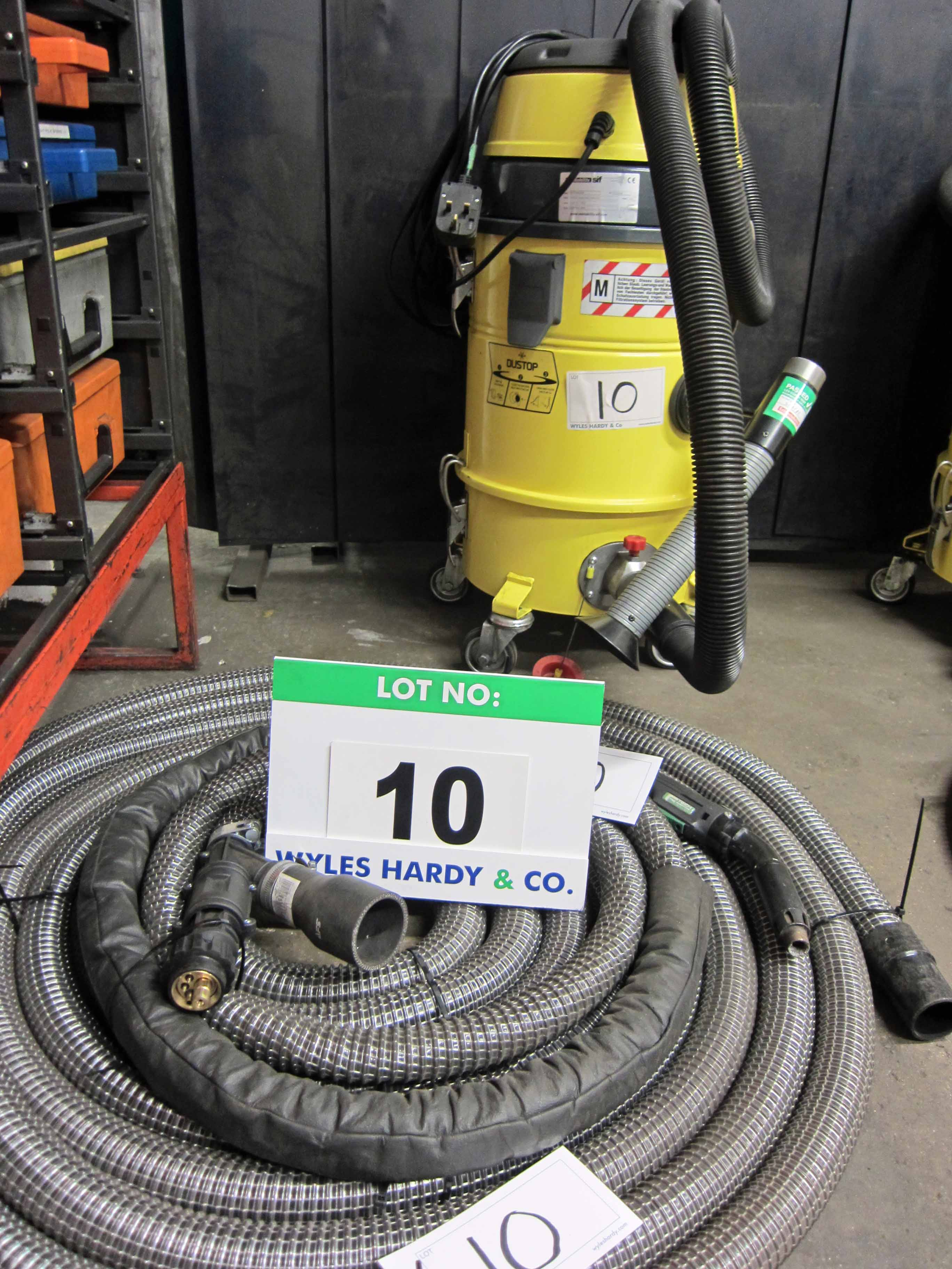 A WELDABILITY SIF Model EXTSVAC 240 240V Mobile Fume Extractor complete with F-TECH Fume - Image 2 of 3