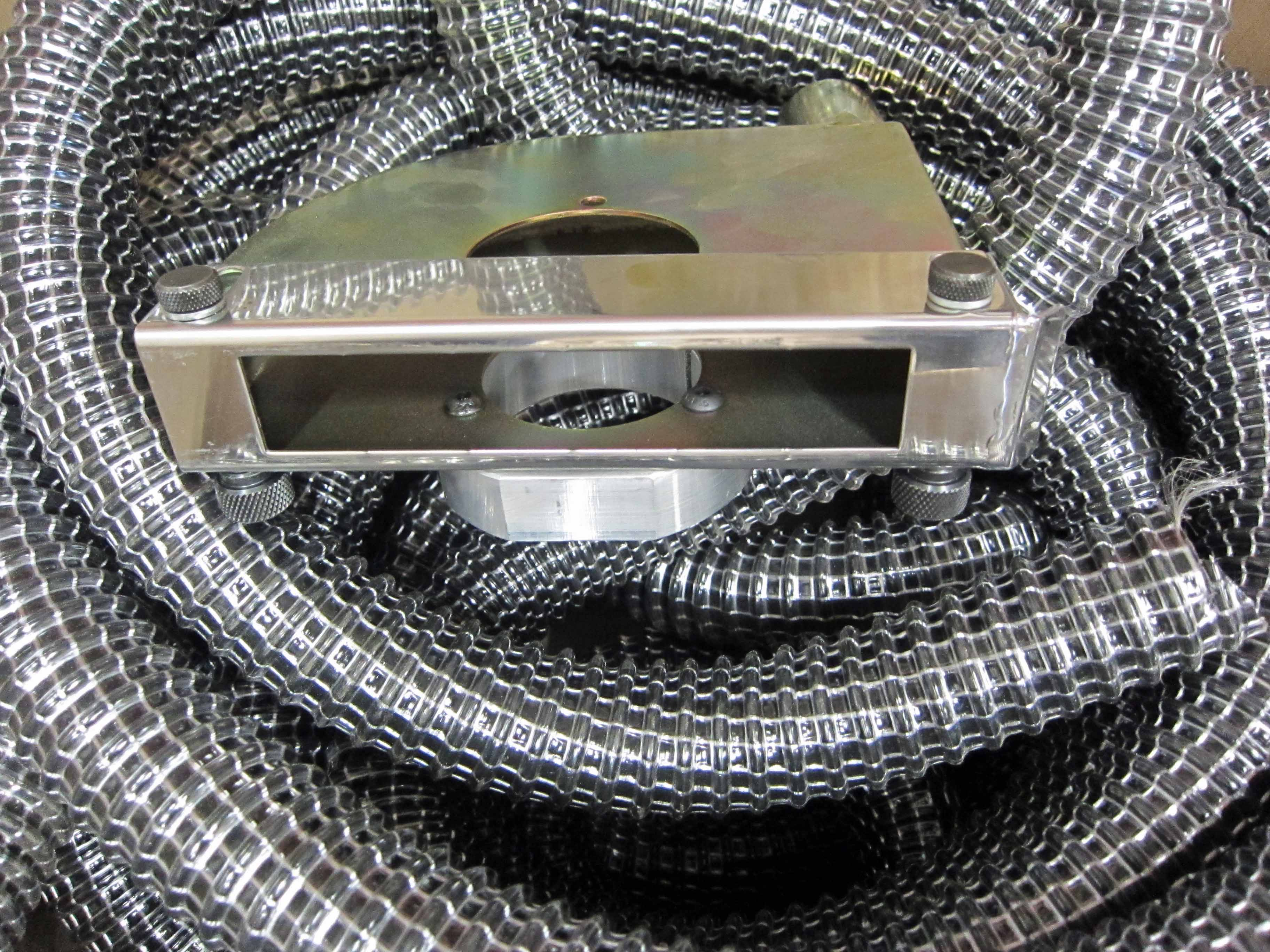 A WELDABILITY SIF Grinding Extraction Head complete with Approx. 15M of Extraction Hose and Coupling - Image 3 of 3