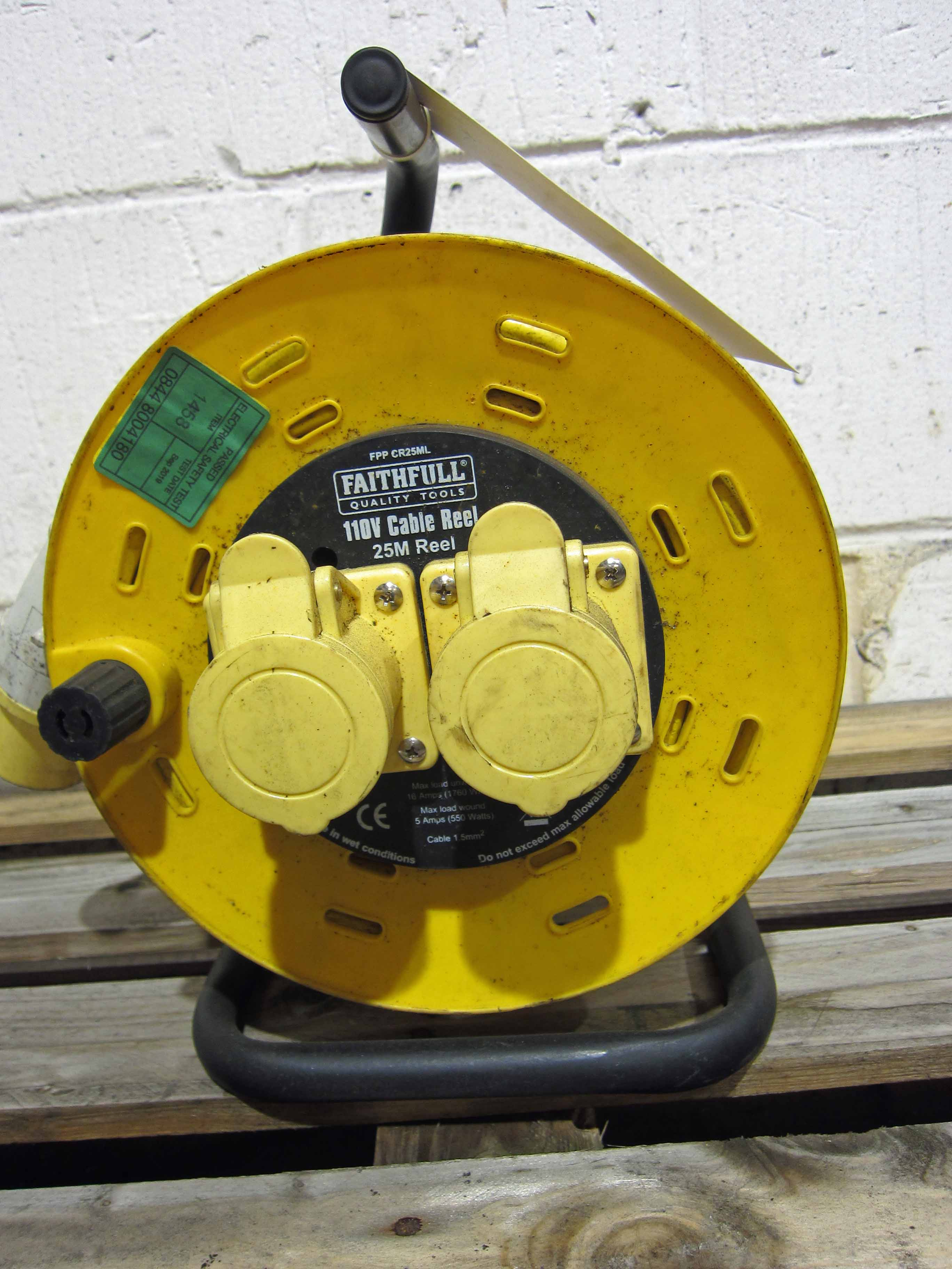 A 25M 110V Extension Lead Twin Outlet - Image 2 of 2