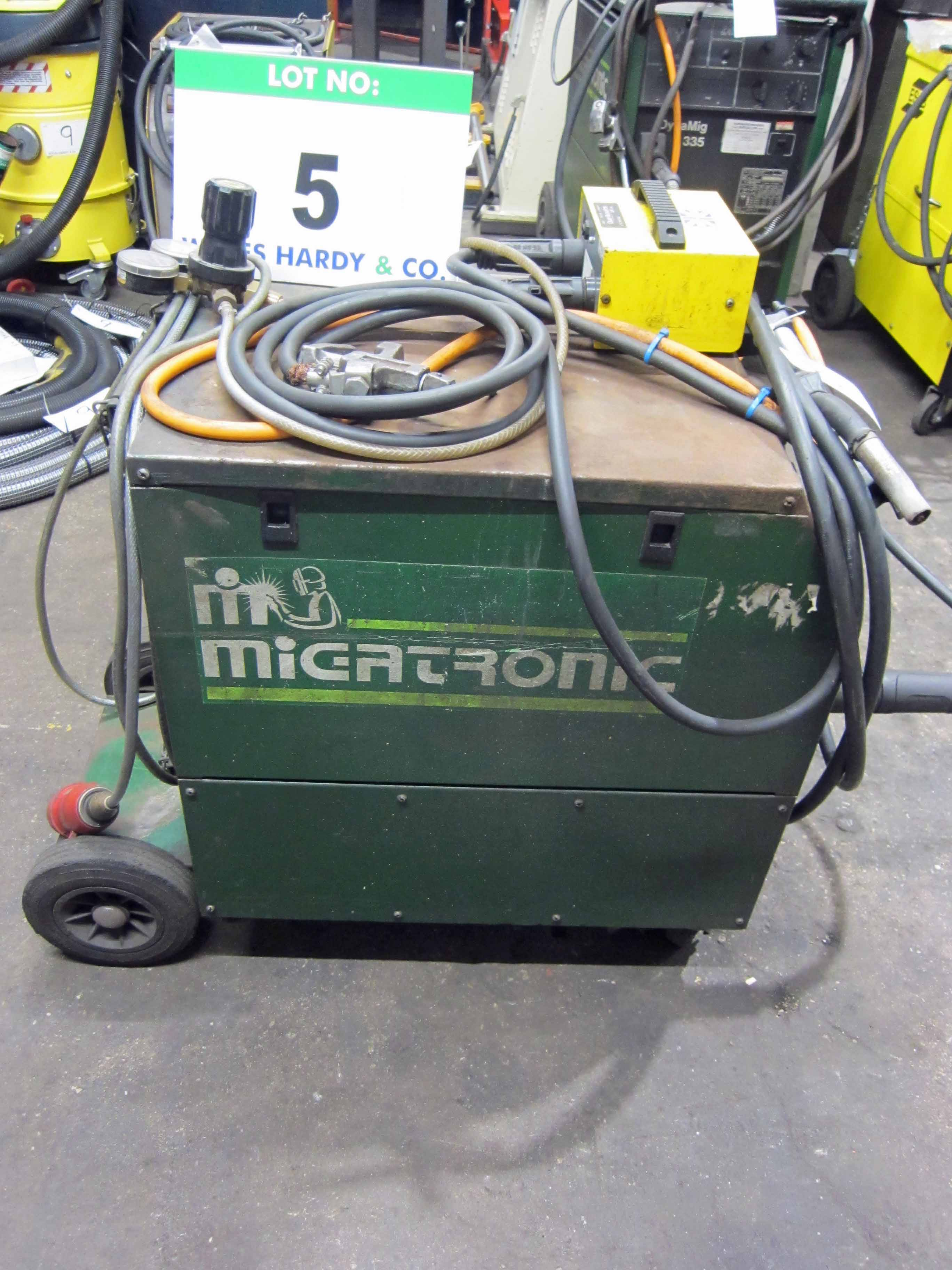 A MIGTRONIC Model Mig 300 Mig Welder complete with QUALITRONICS Voltage and Amp Meters and Gun, - Image 2 of 6