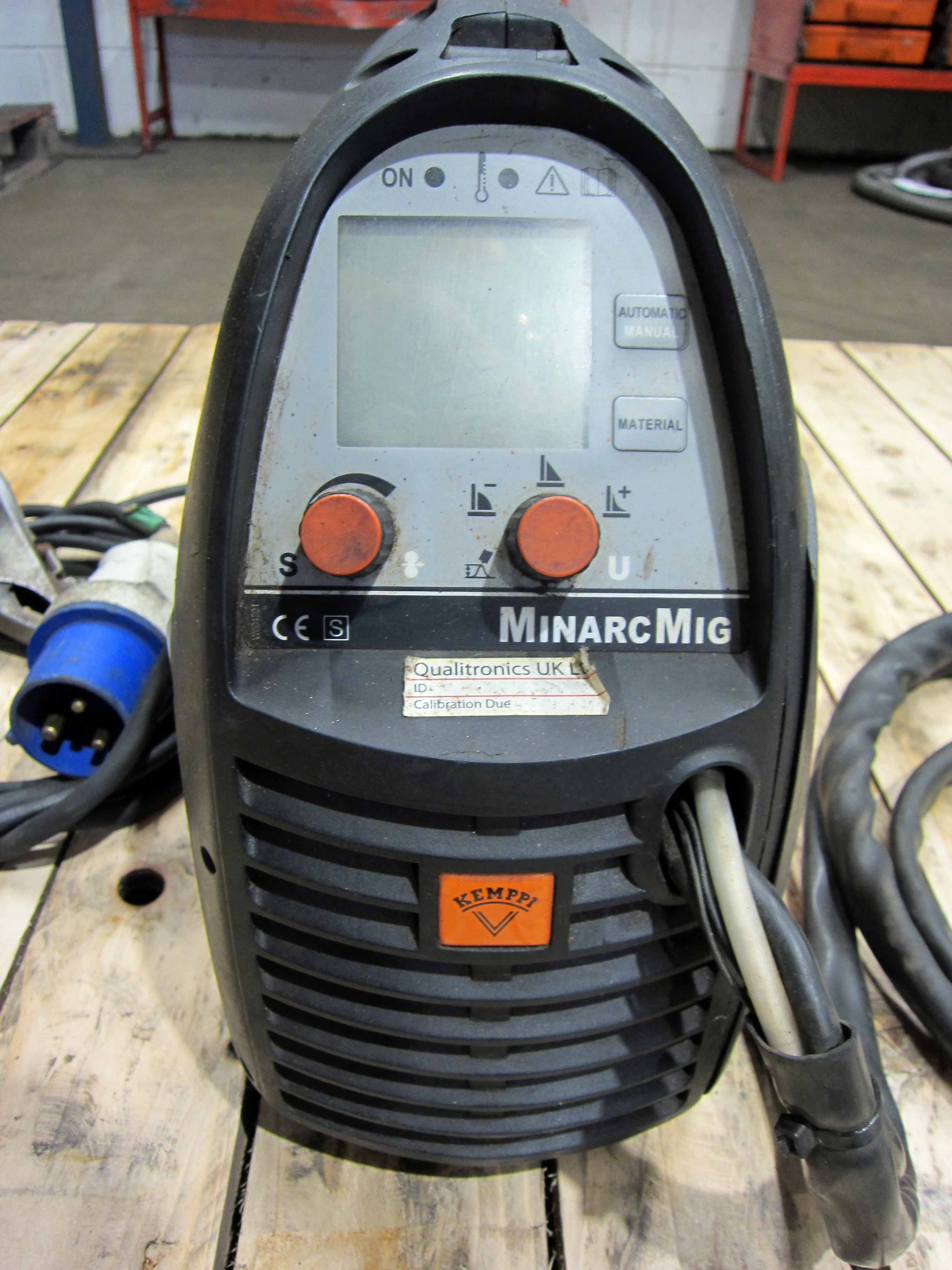 A KEMPPI MinArc Mig Model Adaptive 180 240V Portable Mig Welder complete with Gun and Earth Lead ( - Image 2 of 6