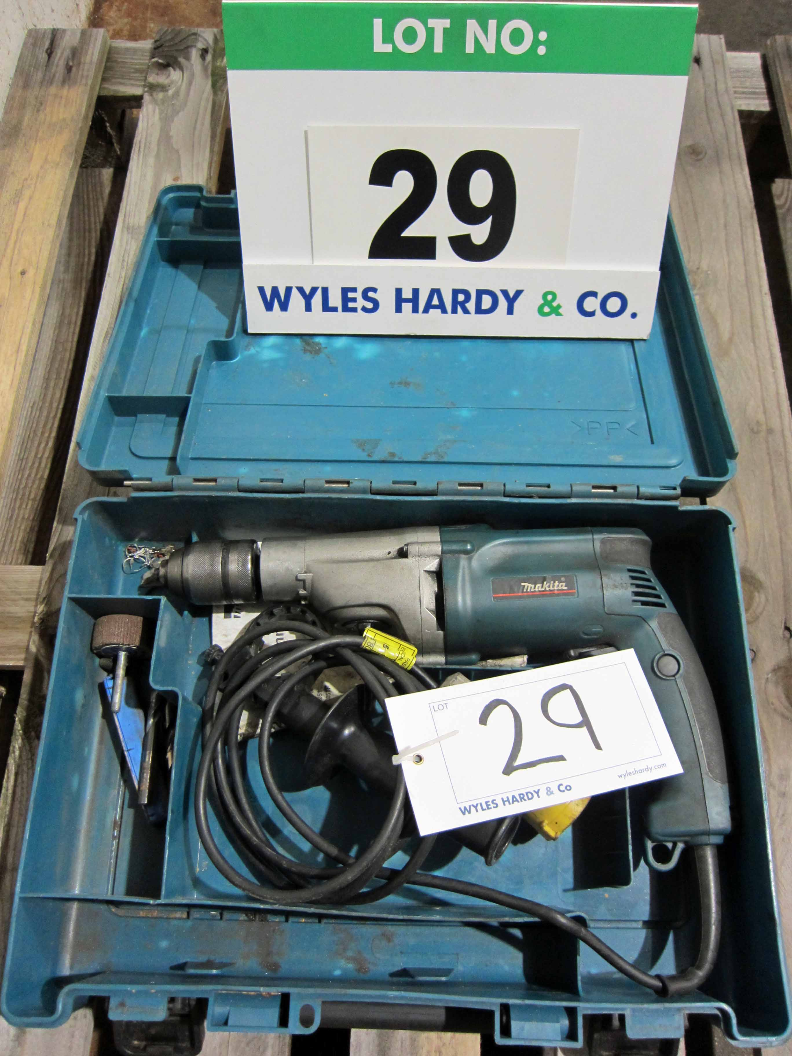 A MAKITA Model HP2051 110V 2-Speed Drill in Blow Moulded Case - Image 2 of 2