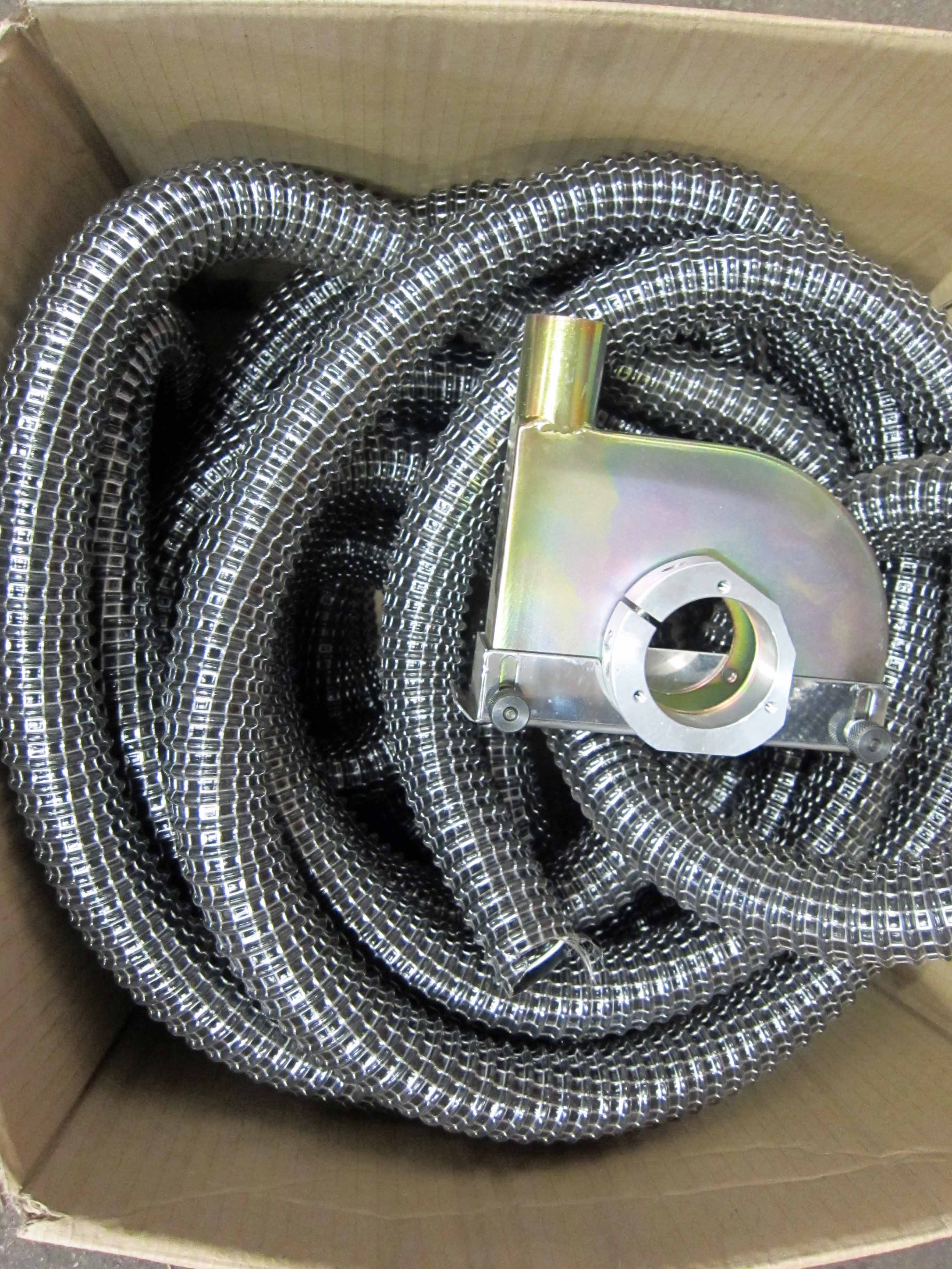 A WELDABILITY SIF Grinding Extraction Head complete with Approx. 15M of Extraction Hose and Coupling - Image 2 of 3