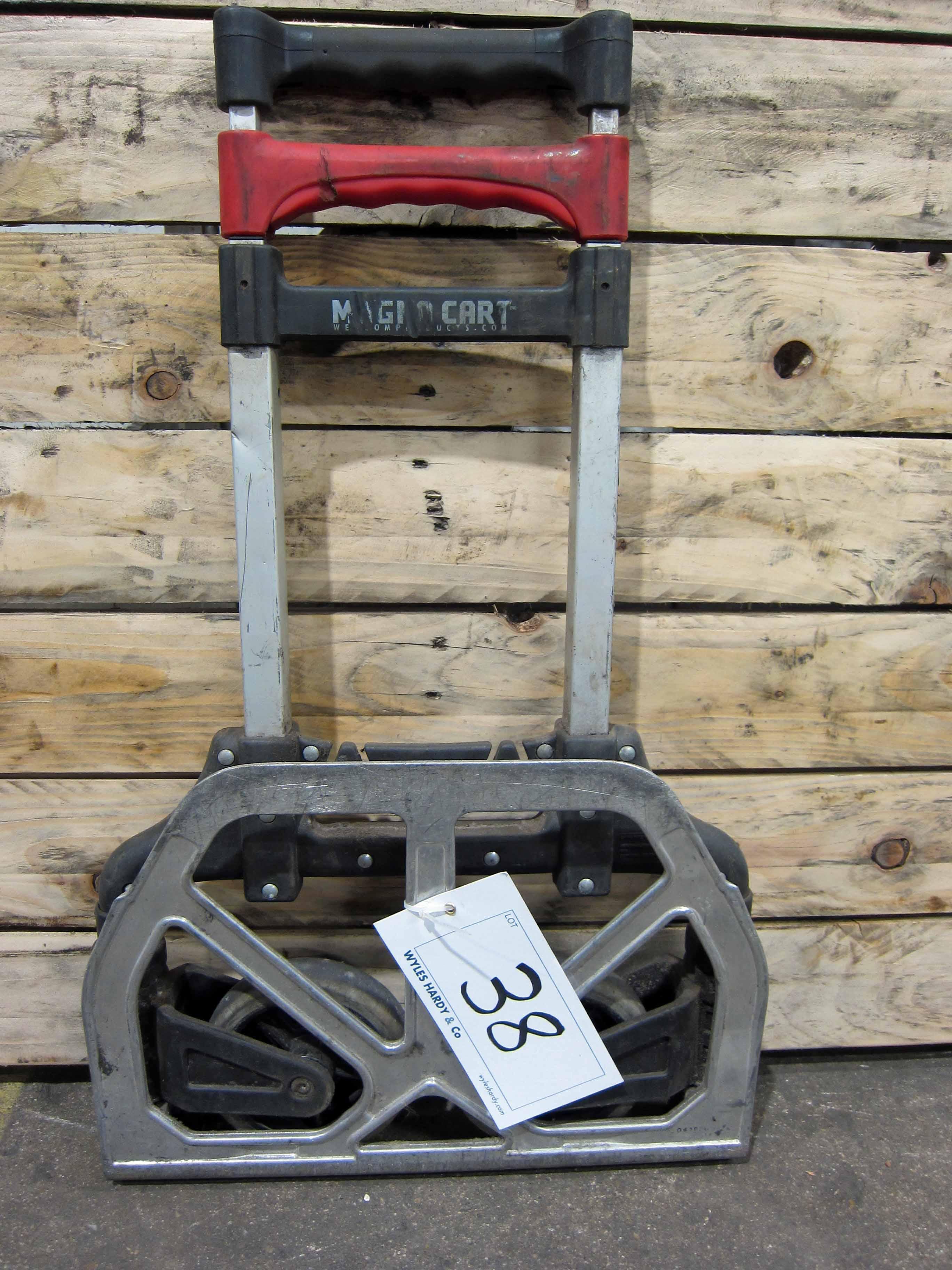 A MAGNA CART Folding Aluminium Sack Trolley - Image 2 of 2